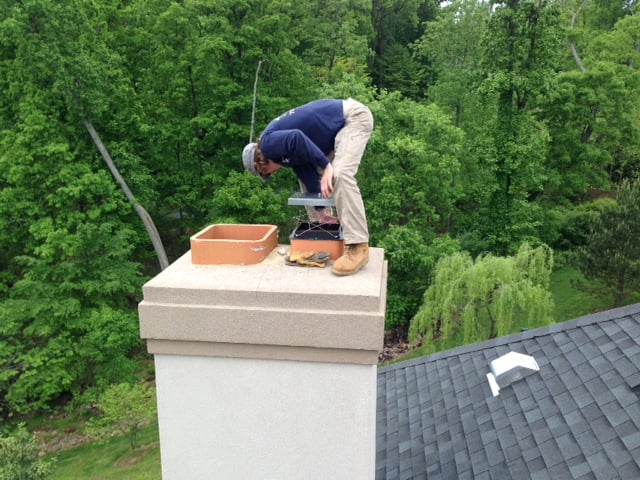 Chimney Cleaned